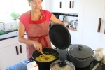 Cooking Pineapple and Cocnut Curry