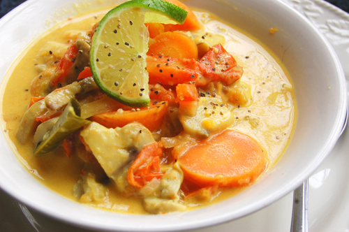 Quick Thai Yellow Curry