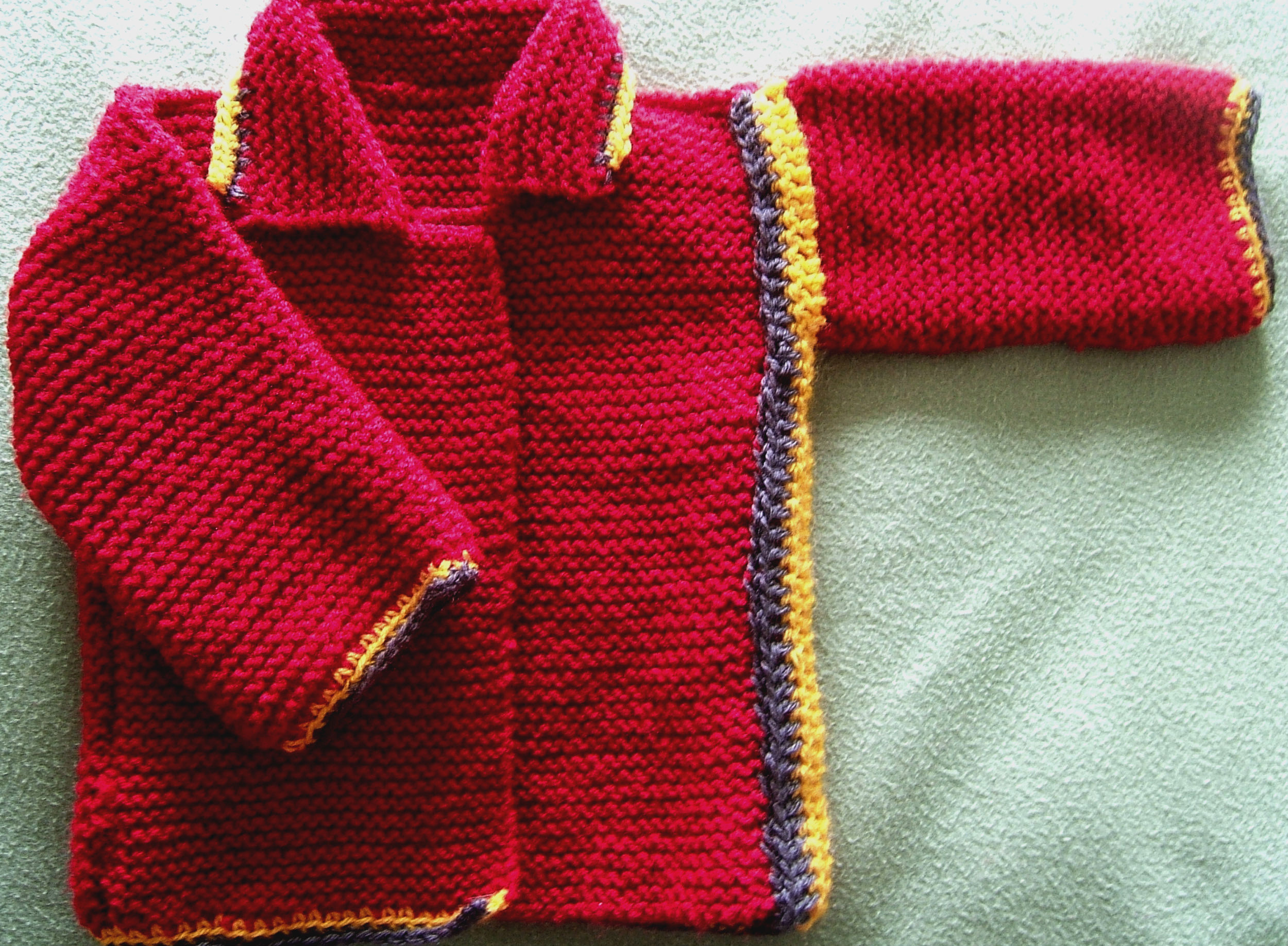 How to make a knitting pattern your own baby rasta jacket lots baby rasta jacket bankloansurffo Images