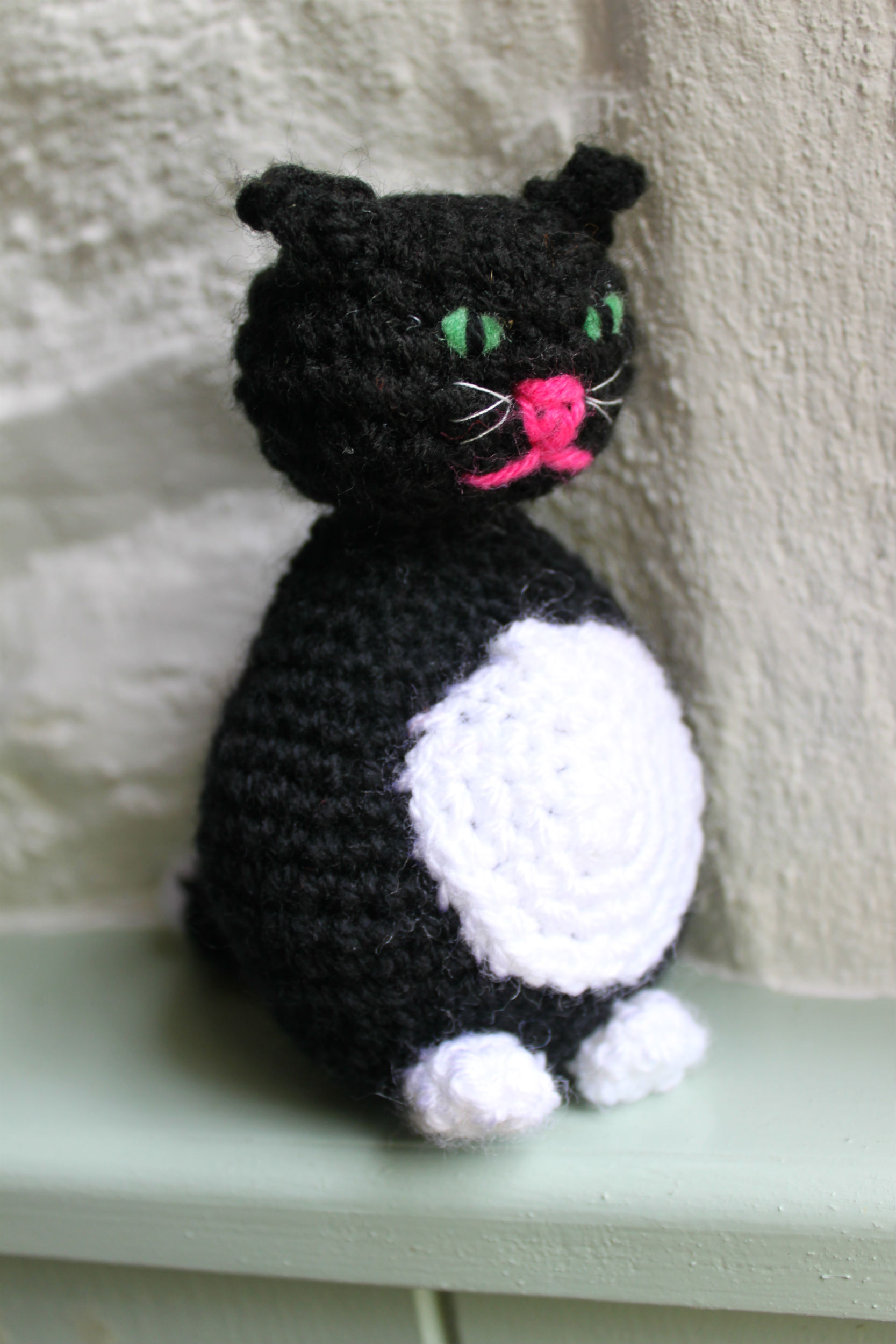 Crocheting Cats : Crocheted cat