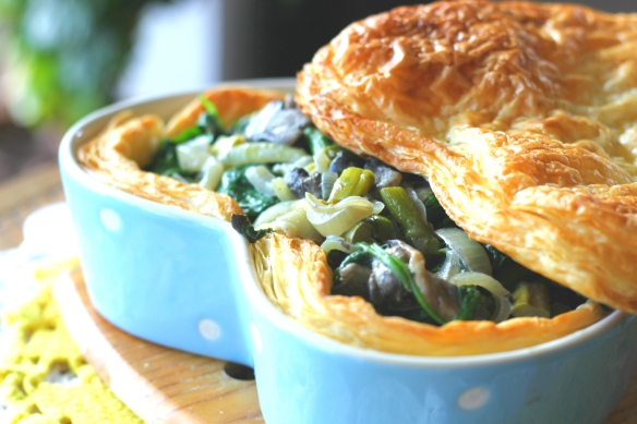 Vegetable Puff Pastry Pie