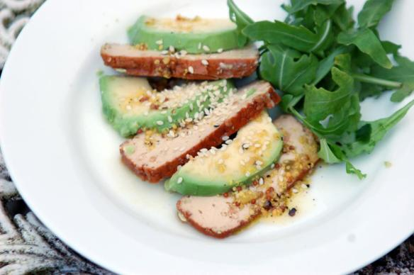 Avocado & Smoked Tofu Salad, from Viva! and the Vegetarian Recipe Club