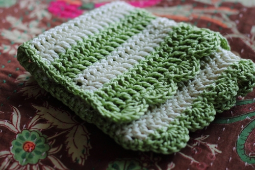 Crochet Cotton Baby Cloth