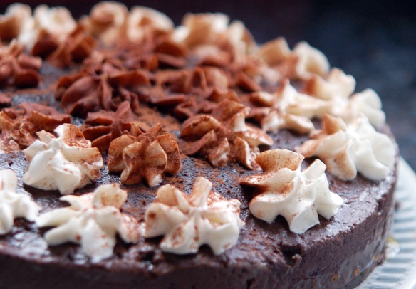 Viva! and Vegetarian Recipe Club's Chocolate and Brandy Truffle Torte