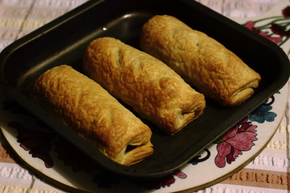 Big Cheating Sausage Rolls