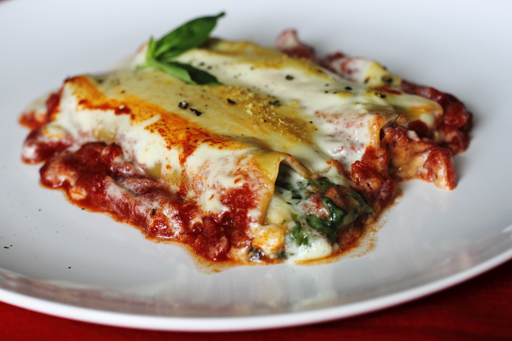 clement in e sauces cannelloni with swiss chard and fresh goat cheese ...