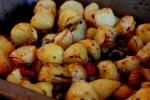 Roast spuds