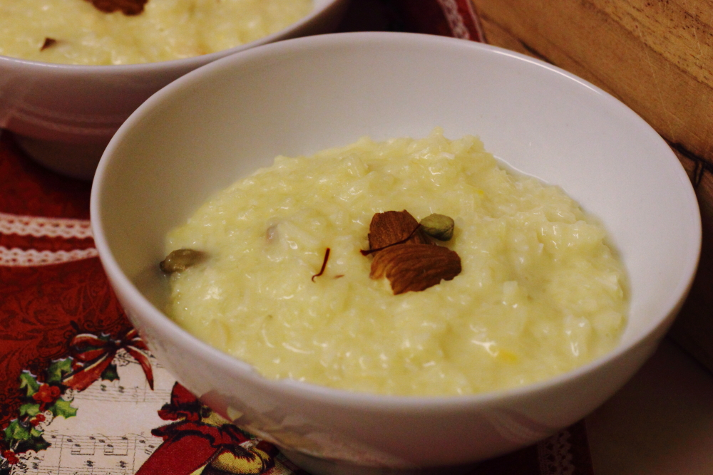 Indian Rice Pudding (kheer) | lots of nice things