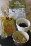 Nut roast ingredients