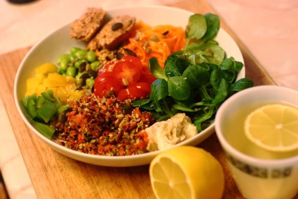 Squash Spagetti Salad 2
